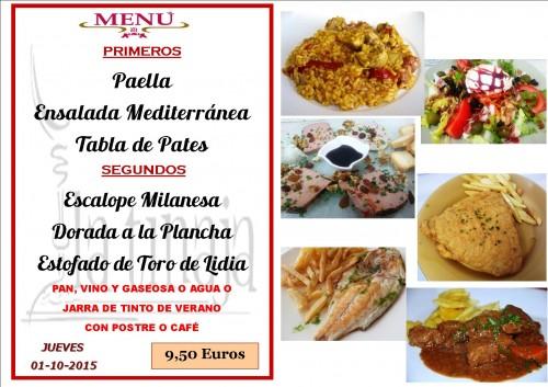 menu del  1 del 10