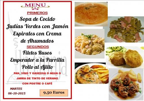 menu del  6 del 10