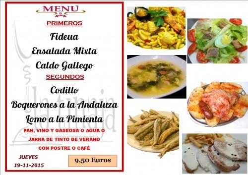 menu del  19  del 11
