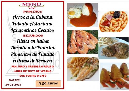 menu del  24 del 11