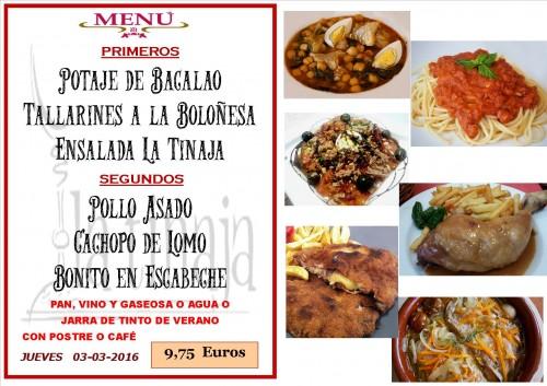 menu del 03 del 3
