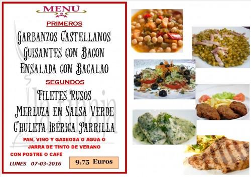 menu del 07 del 3