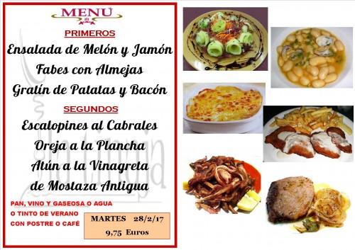 menu del 28 del 2