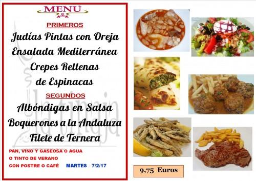 menu del 7 del 2