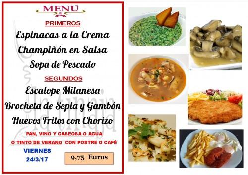 menu del 24 del 3