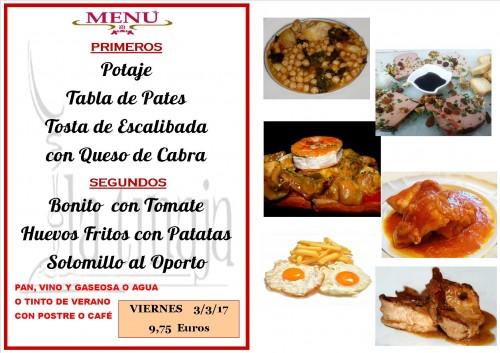 menu del 3 del 3