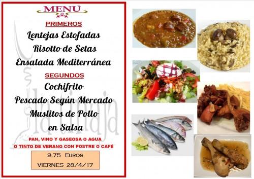 menu del 28 del 4