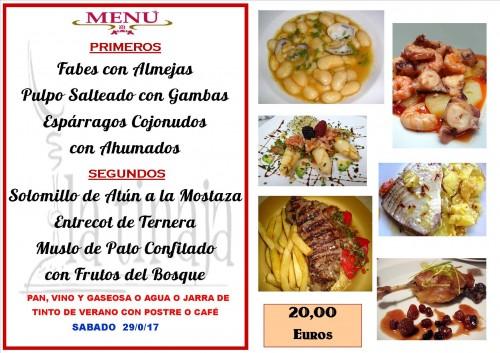 menu del 29 del 4