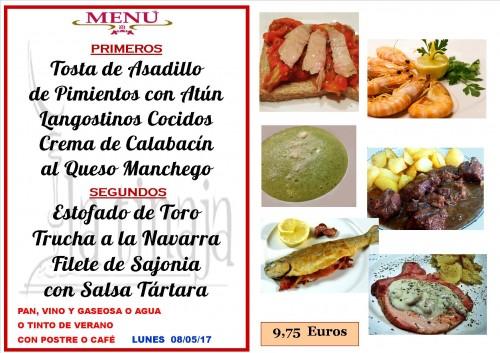 menu 8 del 5