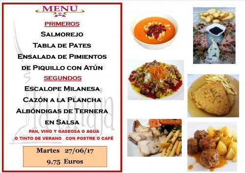 menu 27 del 6