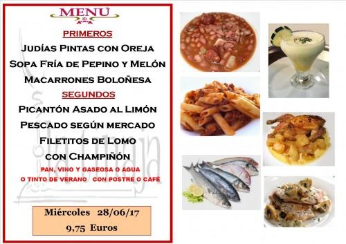 menu 28 del 6