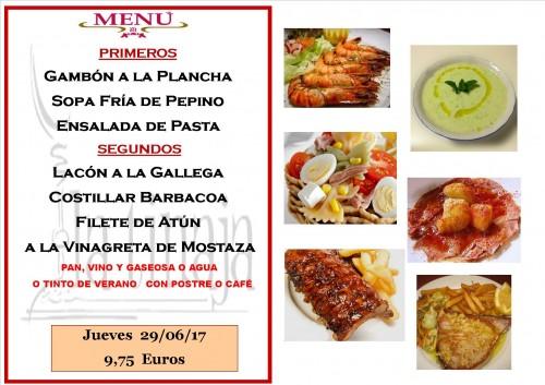 menu 29 del 6