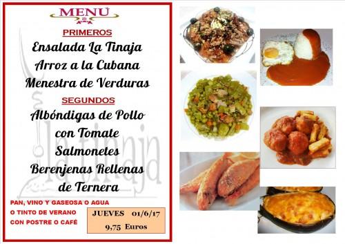 menu del 1 del 6