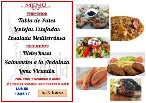 menu del 12 del 6