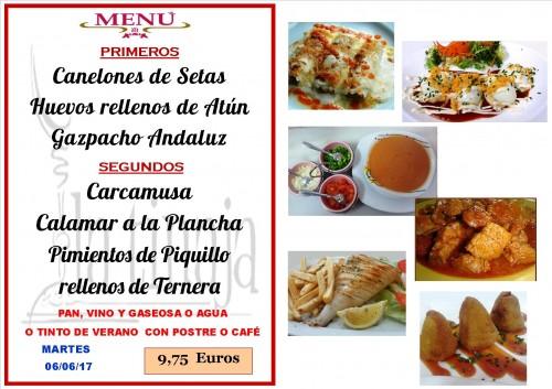 menu del 6 del 6