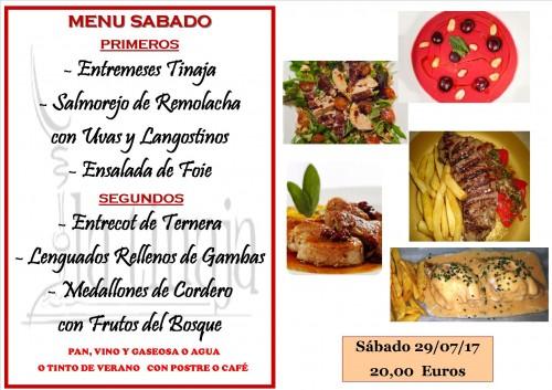 menu 28 del 7
