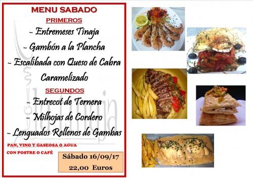 menu 16 del 9