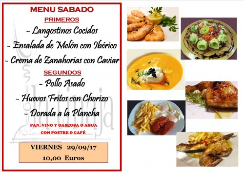 menu 29 del 9