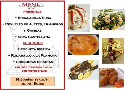 menu 18 del 10