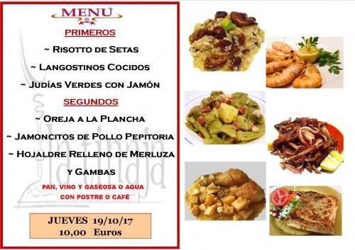 menu 19 del 10