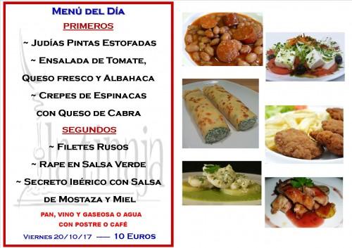 menu 20 del 10