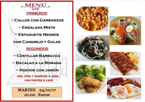menu 24 del 10
