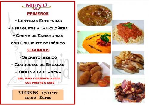menu 17 del 11