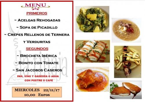 menu 22 del 11