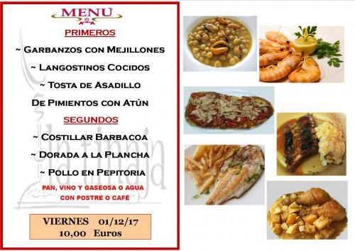 menu 1 del 12
