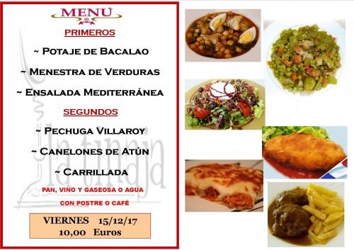menu 15 del 12