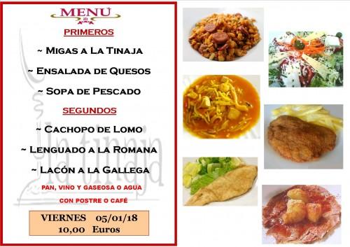 menu 05 del 01