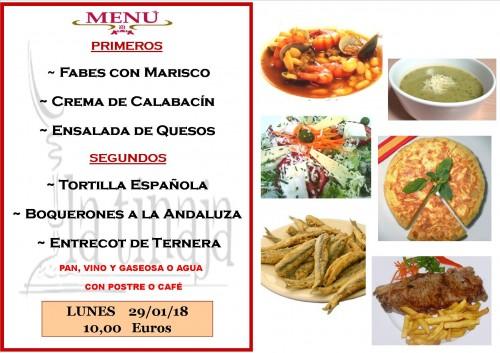 menu 29 del 01