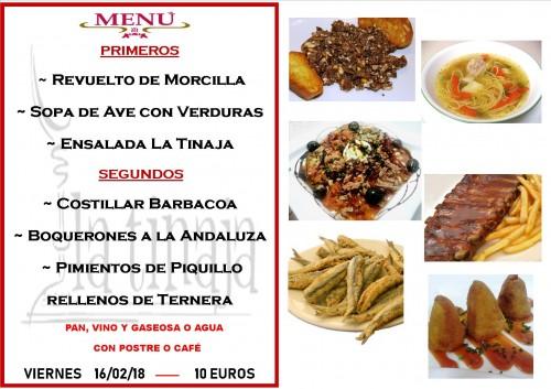 menu 16 del 2