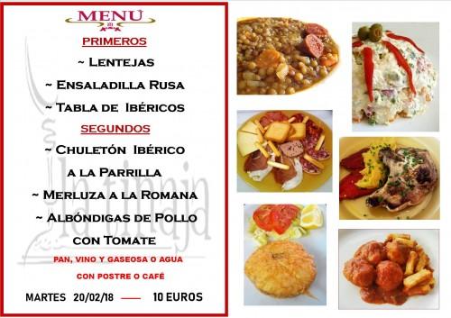menu 20 del 2