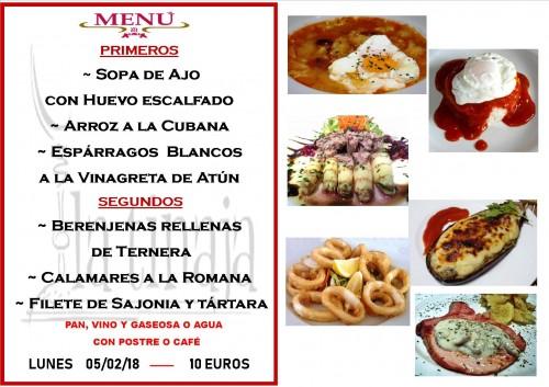 menu 5 del 2