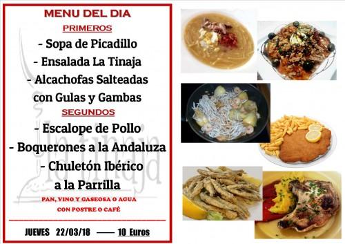 menu 22 del 3
